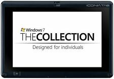 Acer Iconia W501P Wi-Fi 3G Cellular, 10.1in Black/Grey Windows Tablet NO HDD