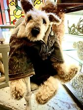 Dufeu Bear Such An Awesome Dog With Cute Flight Jacket!
