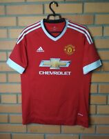 Manchester United Jersey 2015 2016 Home MEDIUM Shirt Adidas Football Soccer