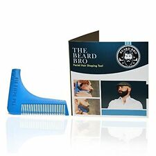 (Made in the USA)  The Beard Bro- Beard Shaping Tool -Pacific Blue