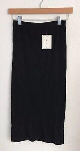 New NWT See You Monday LA Tube Strapless Seamless Slip Dress Black One Size