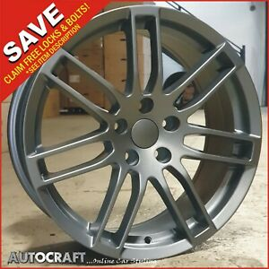 """18"""" RS4 MG Style ALLOY WHEELS + TYRES Fits - AUDI A3 A4 A6 TT PCD: 5X112"""