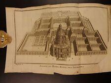 1752 PARIS Views Notre Dame Cathedral Bourbon Palace Invalides Sainte Chapelle