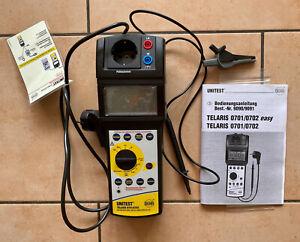 BEHA UNITEST TELARIS 0701/070 Gerätetester DIN VDE 0701/0702 Amprobe 9091