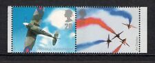 GB 2008 sg2868-9 Pilot To Plane Spitfire Red Arrows booklet stamps perf 14 MNH