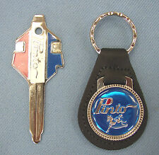 Vintage Ford PINTO Blue Key Ring & Factory Pinto Fix It Tool Key Fob Set NOS