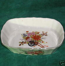 Small Floral Porcelain Dish, Japan