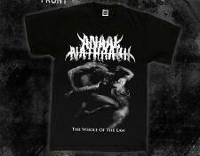 ANAAL NATHRAKH-The Whole of the Law-extreme metal band, T_shirt-sizes:S to 7XL