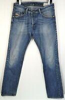 Men's Diesel Jeans Darron Size 31 x 32 Button Fly Denim Regular Slim Tapered