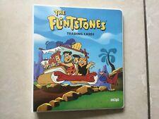 The Flintstones Full 88 Collector Card Set Plus 11 Stickers In Binder