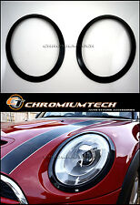 MK3 F56 F57 MINI Cooper/S/ONE BLACK Headlight Trim Surround Hatch Convertible