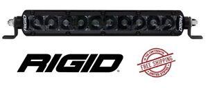 "Rigid Industries SR-Series PRO Midnight Edition 10"" LED Light Bar - Spot"