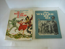 Lot of 2 Wizard Of Oz Books 1 Book Of Sheet Music And 1 Book Of Scene Photos