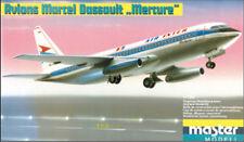 """Avions Marcel Dassault """"Mercure"""" 1:100 Master Modell / Plasticart 1018, Original"""