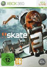 XBOX 360 skate 3 skateboarding USATO OTTIMO STATO