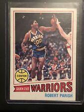 Robert Parish rookie basketball card