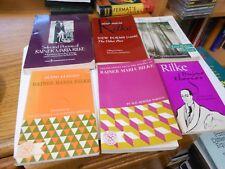 Rainer Maria Rilke - 6 Very Good Paperbacks