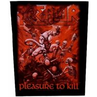 Kreator Pleasure To Kill Jacket Back Patch Official Thrash Heavy Metal New
