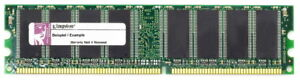 256MB Kingston DDR1 RAM PC2100U 266MHz HP/Compaq Desktop Memory KTC-PR266/256