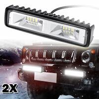 2x 120W phare de travail LED work light rampe Lampe tracteur camion SUV Feux