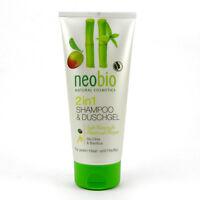 (1,35/100ml) Neobio 2 in 1 Shampoo & Duschgel vegan 200 ml