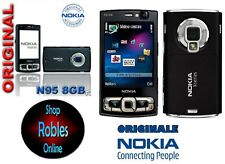 Nokia n95 8gb Black (Senza SIM-lock) Smartphone WIFI 3g 5mp GPS MADE Finland bene