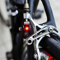 Red LED Bike Accessories Cycling Mountain Bicycle Brake Light Safe Tail Lamp HOT