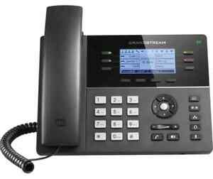 IP Phone WIfi Corded Grandstream GXP1760W New POE 6 Line HD Phone Desk