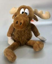 Vintage Rocky & Bullwinkle Moose Golden Bear 1991 Stuffed Animal Plush Toy 18�
