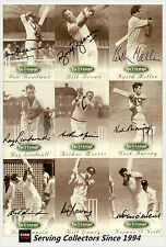 1996 Futera Cricket Heritage Signature Card Collection (60) VALUE AND RARE