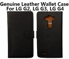 Leather Mobile Phone Cases, Covers & Skins for LG with Kickstand