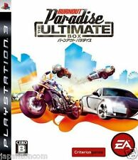 Used PS3 Burnout Paradise The Ultimate  SONY PLAYSTATION 3 JAPAN JAPANESE IMPORT
