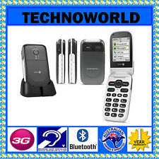 OPTUS/AMAYSIM/DODO DORO PHONEEASY 623+BIG BUTTON+ELDER USE FLIP PHONE+BLUETOOTH