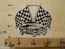 STICKER,DECAL RALLY-CROSS VOLKSWAGEN GOLF ADR.VAN DE VEN BOSE HIFI 901