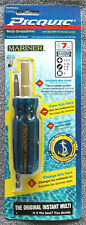 Picquic Mariner Corrosion Resistant MultiBit Screwdriver with 7 Bits: FREE SHIP