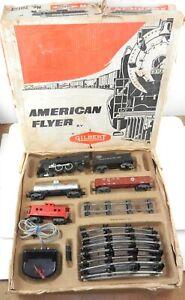 American Flyer S #20123 RDG 4-4-2 Steam Locomotive Train Set - Not Running ~ MS
