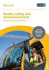 Health,Safety & Environment Test for Operatives and Specialists 2017 - New