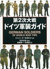 German Military Uniforms WWll Japanese book Soldiers illustration Encyclopedia