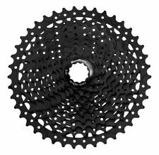 SunRace: CSMS3 - 10 Speed MTB 11-42T Black Cassette-BLACK -10 SPEED 11/42T