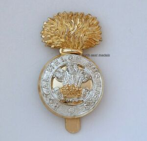 Royal Welch Fusiliers Staybrite Cap Badge