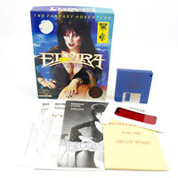 "Elvira for PC 3.5"" in Big Box by Accolade, 1990, CIB, VGC"