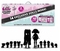 LOL SURPRISE DOLLS ~ AMAZING SURPRISE ~ with 14 Dolls and 70 Surprises FAST POST