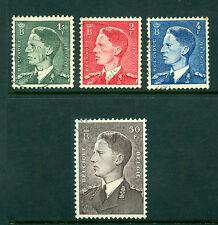 Belgium 1953, King Baudouin, Sc# 446-249, VF Used 671