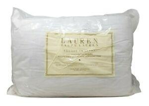 """Lauren Ralph Lauren Bronze Comfort Pillow Queen Size 20"""" x 28"""" - 2 Pack"""