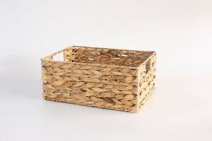 Wickerfield Water Hyacinth Home Storage Basket Collection Display Gift Hamper
