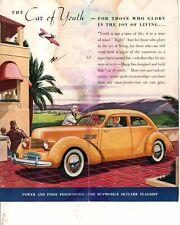 Huppmobile Skylark Original Sales brochure
