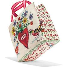 brighton LOVE TWEET HEART CANVAS  TOTE   $100    NEW IN PACKAGE