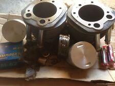 Cylinder URAL (650cc) + piston+ring + pin+connecting rod bushing + circlip. Set