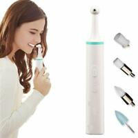 Electric Tooth Polisher Teeth Whitening Stain Plaque Eraser Tartar Cleaning Tool