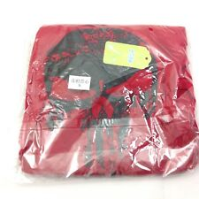 Panegy C5 Bodybuilding Skull Gym Hoodie Tank Top Sport Fitness Shirt S Red New
